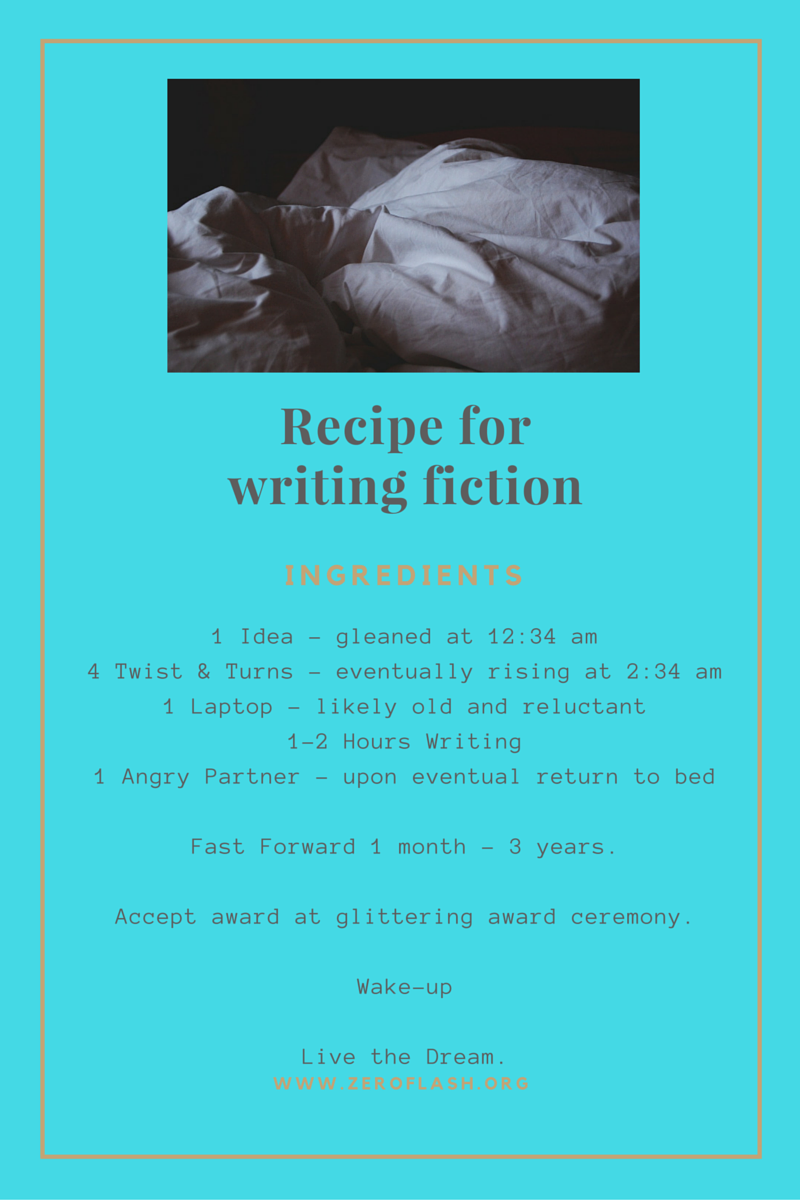 Recipe for writing fiction-www.zeroflash.org