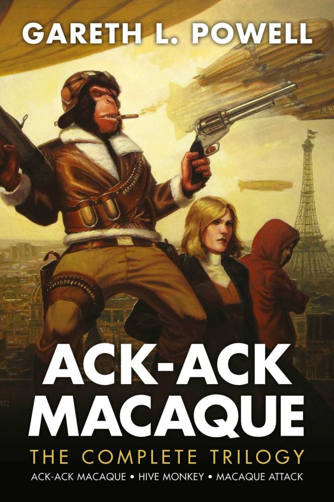 Ack-Ack Macaque book by Gareth L.Powell