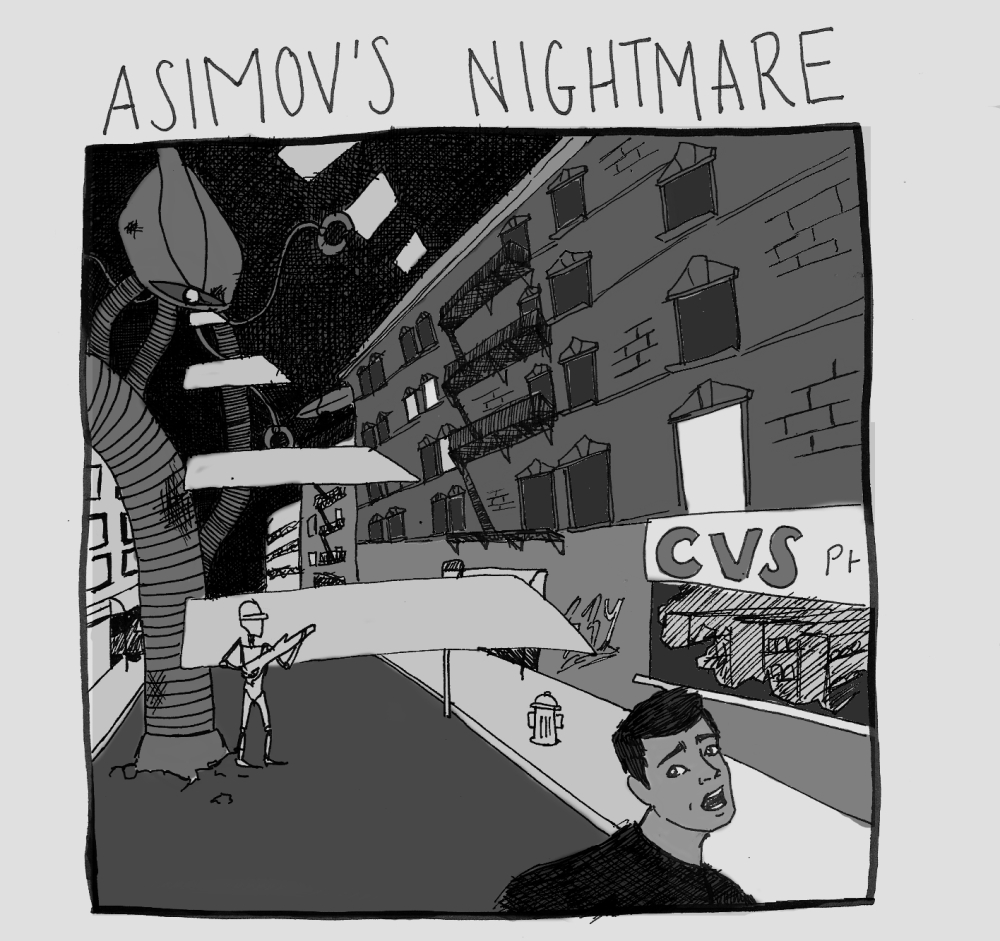 Asimov's Nightmare - Sophia Johnson